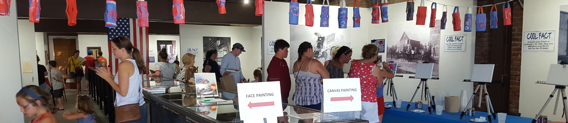 4th of July Event at the Apalachicola Center of Art and History