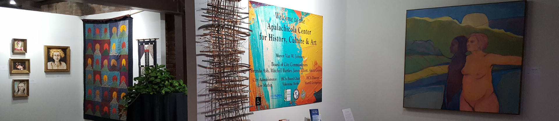 Welcome Entrance to Apalachicola History, Culture and Art Center