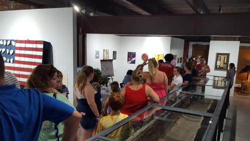 Lots of Visitors of HCA